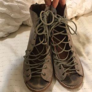 Jeffrey Campbell cors lace up sandals